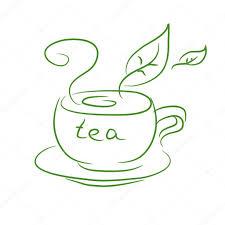 sketch of a cup of tea u2014 stock vector moremari19 35800927