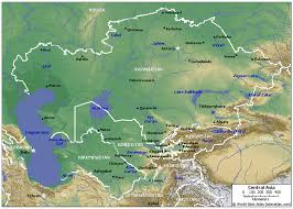 Map Of Central Asia Water Free Full Text Water Related Health Problems In Central
