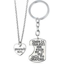 granddaughter necklace s girl granddaughter necklace charm key ring key chain