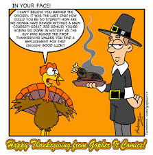 thanksgiving by gopher it comics media culture toonpool