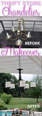 Rewiring A Chandelier by Best 25 Chandelier Makeover Ideas On Pinterest Brass Chandelier