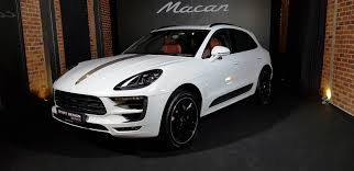 porsche macan white porsche macan sports design limited to 40 units only video