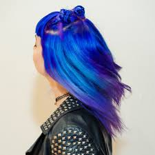 How To Dye Hair Two Colors Get All The Inspiration On Colours For Two Toned Hair From Live
