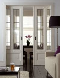 Glass Partition Between Living Room And Kitchen Interior Door Designs Glass French Doors Foyers And Living Spaces