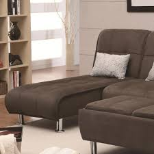 Chaise Beds Coaster Sofa Beds And Futons Casual Styled Living Room Chaise