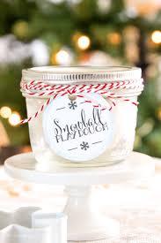 printable playdough recipes glittery snowball playdough recipe easy christmas gift idea