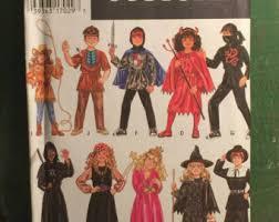 Sewing Patterns Halloween Costumes Kids Costume Pattern Etsy