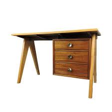 plateau de bureau bois bureau en teck avec plateau en formica teck bois couleur