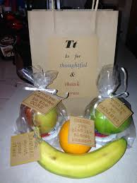 fruit gift ideas 42 best images about teachers gifts on teaching