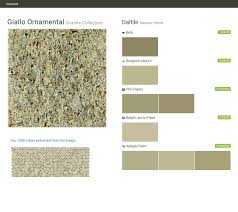 giallo ornamental granite collection natural stone daltile