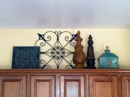Hobby Lobby Home Decor Ideas by Decorating Above Kitchen Cabinets All Items Purchased From Home