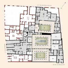 best floor plan house plan casa del citarista pompeii on behance pompeii house