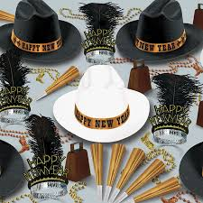 new years kits western nights new year s party kit for 50 new year s