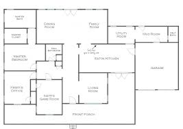 Game Room Floor Plans Ideas Apartments House Floor Plan House Floor Plan With Dimensions