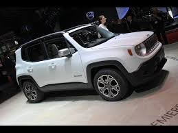 jeep renegade convertible 2015 jeep renegade tiniest jeep yet unveiled in geneva video and