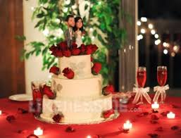 custom bobblehead wedding cake toppers are the icing on the cake