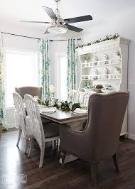 Dining Room Table Decor Ideas Aqua U0026 Green Farmhouse Christmas Table Decoration Ideas The Diy