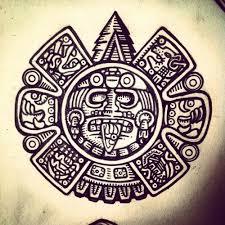 samuel humphreys illustration tonatiuh is the aztec sun god