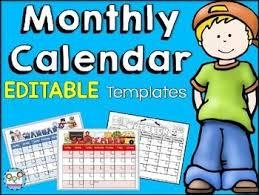 80 best calendar and newsletter templates images on pinterest