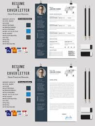 creative ms word resume cv letterhead and invoices with extended