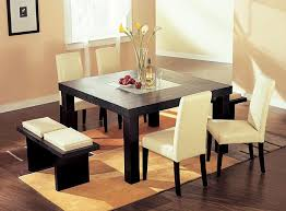 centerpieces for dining room table minimalist dining room design with square dining table using