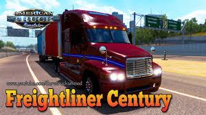 freightliner freightliner century american truck simulator youtube