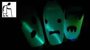 halloween milk bottle ghosts youtube