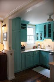 Turquoise Cabinets Kitchen 19 Inexpensive Ways To Fix Up Your Kitchen Photos Yellow