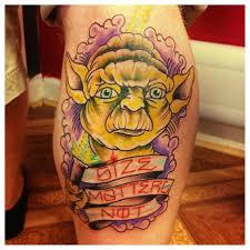 cool cartoon tattoos 57 unique star wars yoda tattoos