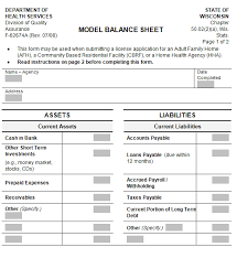 Restaurant Balance Sheet Template 22 Free Balance Sheet Templates In Excel Pdf Word