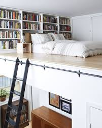 Small Mezzanine Bedroom by How To Make A Small Apartment Feel Huge Loft Brooklyn Apartment