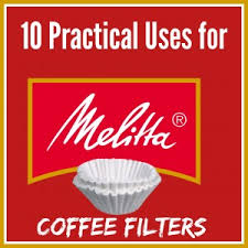 coffee filter uses top 10 practical uses for coffee filters more than just used in