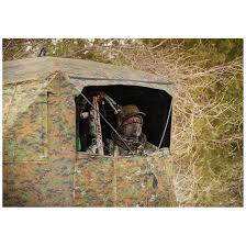 guide gear silent adrenaline camo ground hunting blind 663620