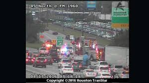 Houston Transtar Traffic Map North Fwy At Fm 1960 Jammed By Major Accident Abc13 Com