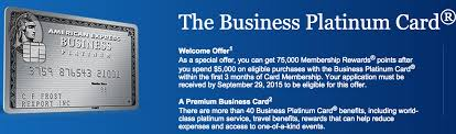 Business Platinum Card Amex 75 000 Point Offer Is Back For Amex Business Gold And Business