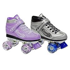roller skates with flashing lights amazon com pacer comet kids light up roller skates sports outdoors