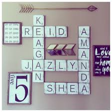 Home Decor Wall Signs by Scrabble Wall Tiles Gallery Wall Signs Large Scrabble Tiles