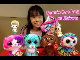 beanie boo collection ty beanie boos bag claire u0027s exclusive