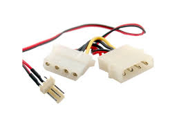 cpu fan 4 pin to 3 pin 3 pin fan to 4 pin molex power connector