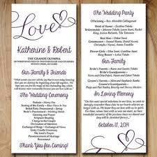 tea length wedding programs shop purple wedding programs on wanelo