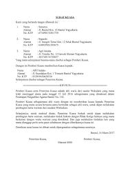 format surat kuasa jual beli rumah contoh surat keterangan ahli waris contohsuratmu com