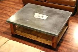 concrete and wood coffee table concrete and wood coffee table industrial concrete coffee table