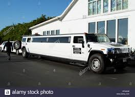 hummer limousine a stretched white hummer limo made by general motors usa seen here