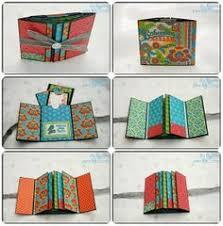 small scrapbook album tutorial mini album libros de artista ejemplos y tutoriales