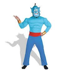 genie halloween costumes party city aladdin disney genie muscle costume buycostumes com