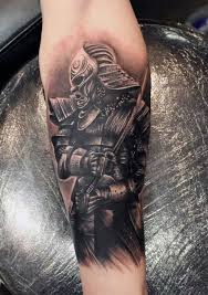 dragon forearm tattoos the breathtaking work of mike devries samurai arm sleeves