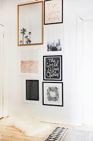 our hallway gallery wall kate la vie