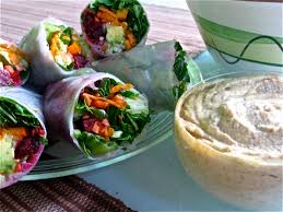 where to buy rice wrappers veggie rice wraps with almond dipping sauce meghan telpner