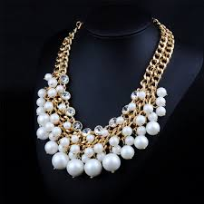 chunky pearl fashion necklace images Cheap statement necklace pearls find statement necklace pearls jpg