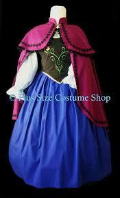 Anna Halloween Costume Anna Frozen Halloween Costume Size Super Size Halloween